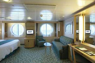 Oceanview cabin on Freedom of the Seas