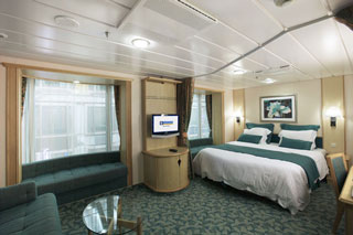 Inside cabin on Freedom of the Seas