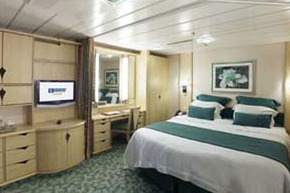 Inside cabin on Liberty of the Seas
