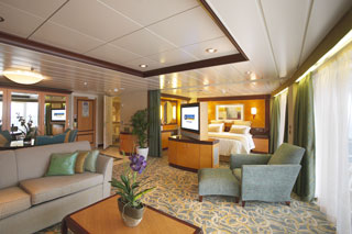 Suite cabin on Liberty of the Seas