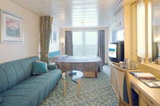 Balcony cabin on Independence of the Seas