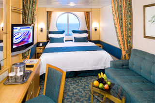 Oceanview cabin on Independence of the Seas