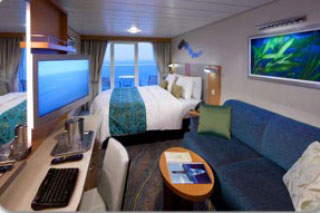 Balcony cabin on Allure of the Seas