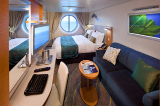 Oceanview cabin on Allure of the Seas