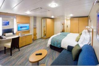 Inside cabin on Allure of the Seas