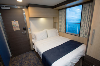 Inside cabin on Anthem of the Seas