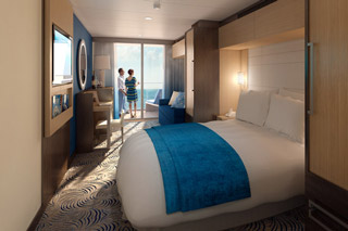 Balcony cabin on Quantum of the Seas