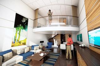 Suite cabin on Quantum of the Seas