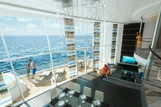 Suite cabin on Quantum of the Seas