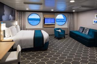 Oceanview cabin on Harmony of the Seas