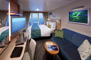 Balcony cabin on Harmony of the Seas