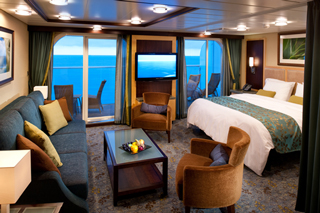 Suite cabin on Harmony of the Seas