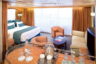 Suite cabin on Empress of the Seas