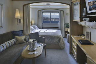 Oceanview cabin on SeaDream II