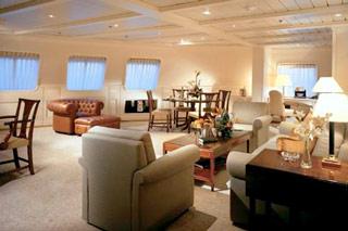 Suite cabin on Silver Cloud