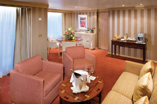 Suite cabin on Silver Wind