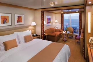 Suite cabin on Silver Spirit