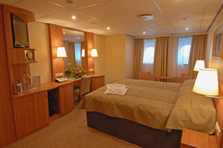 Oceanview cabin on Viking Truvor