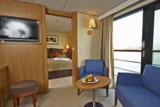 Suite cabin on Viking Legend