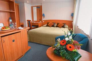Oceanview cabin on Viking Rurik