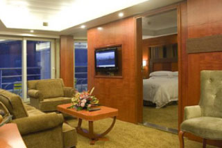 Suite cabin on Viking Emerald