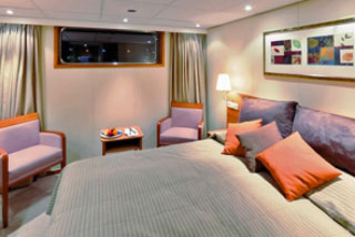 Oceanview cabin on Viking Freya
