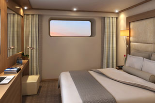 Oceanview cabin on Viking Embla