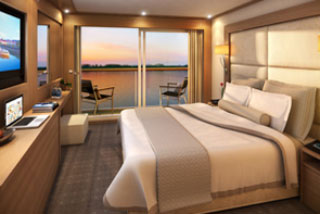 Balcony cabin on Viking Var