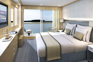 Balcony cabin on Viking Delling