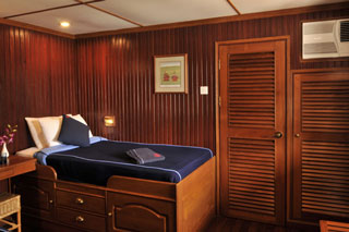 Oceanview cabin on Viking Mekong