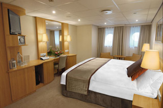 Oceanview cabin on Viking Akun