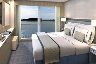 Oceanview cabin on Viking Hlin
