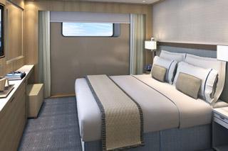 Oceanview cabin on Viking Vidar