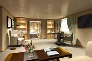 Suite cabin on Star Breeze