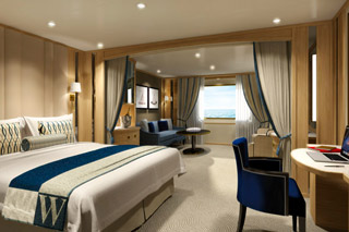 Suite cabin on Star Legend