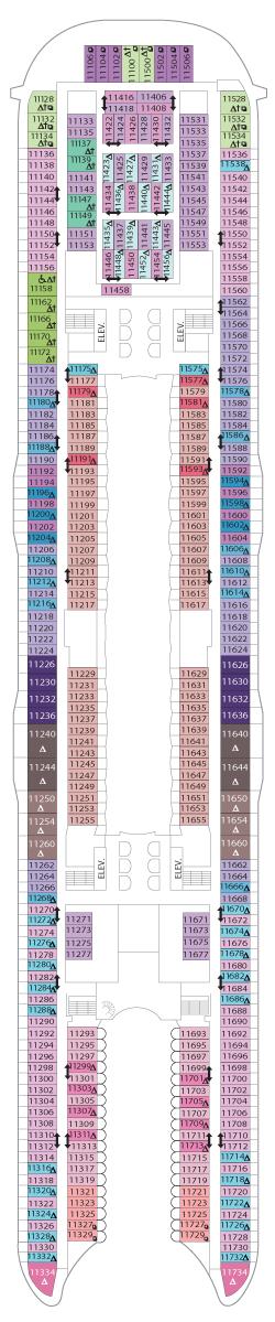 Symphony of the Seas Deck 11