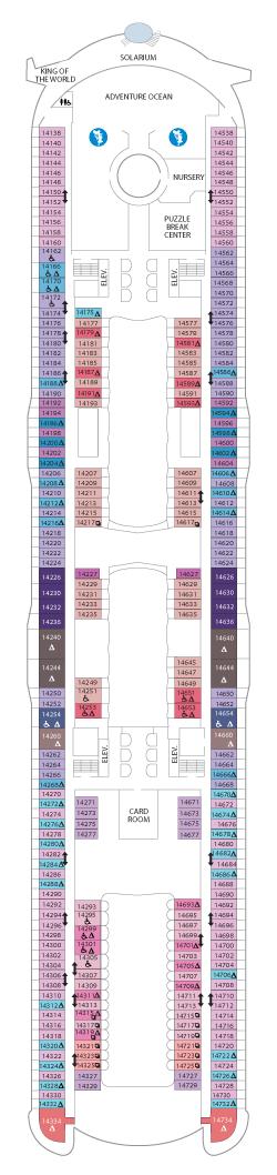 Symphony of the Seas Deck 14