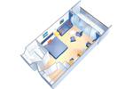 1052 Floor Plan