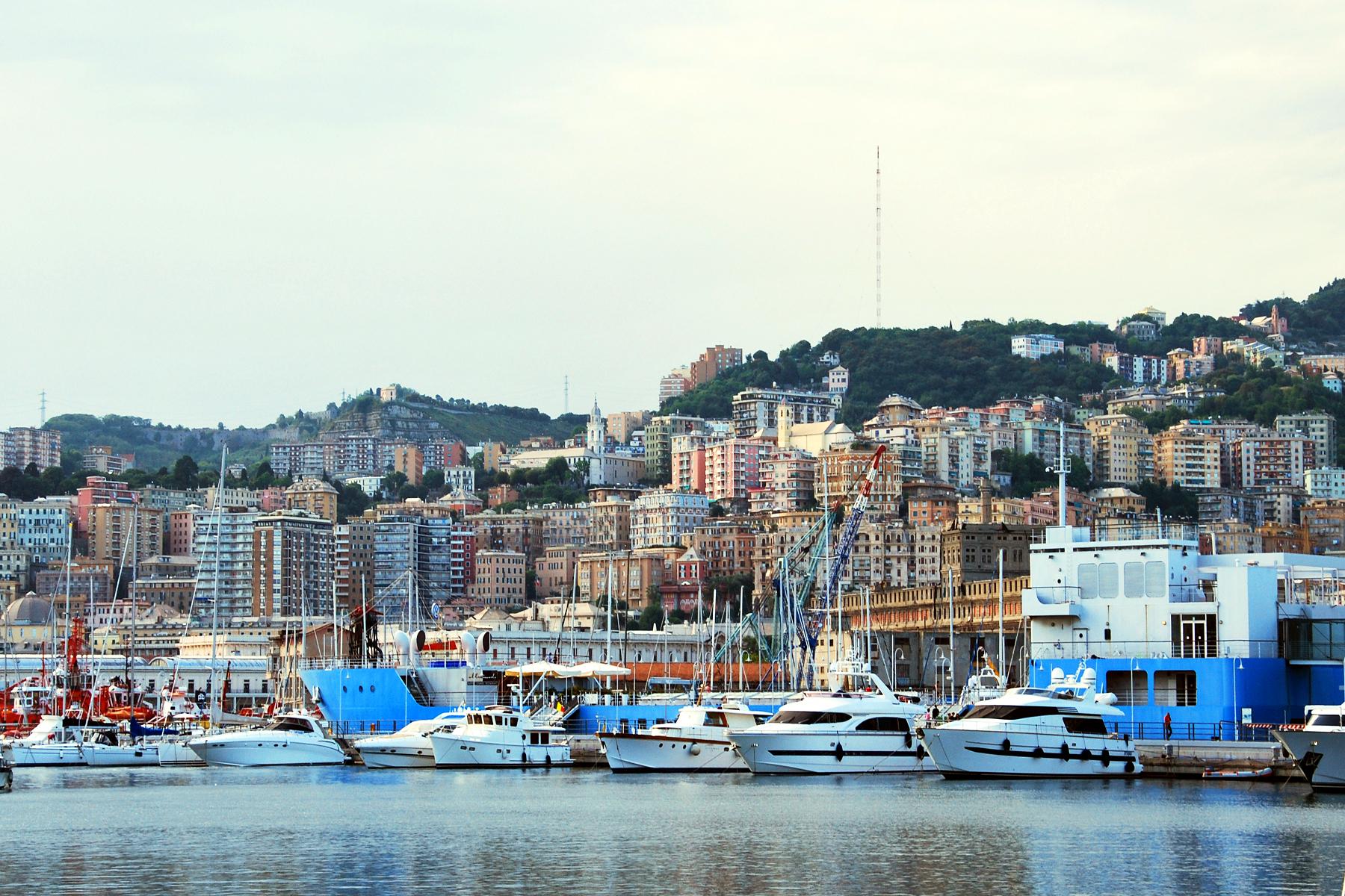 Genoa Italy Cruise Port Cruiseline Com