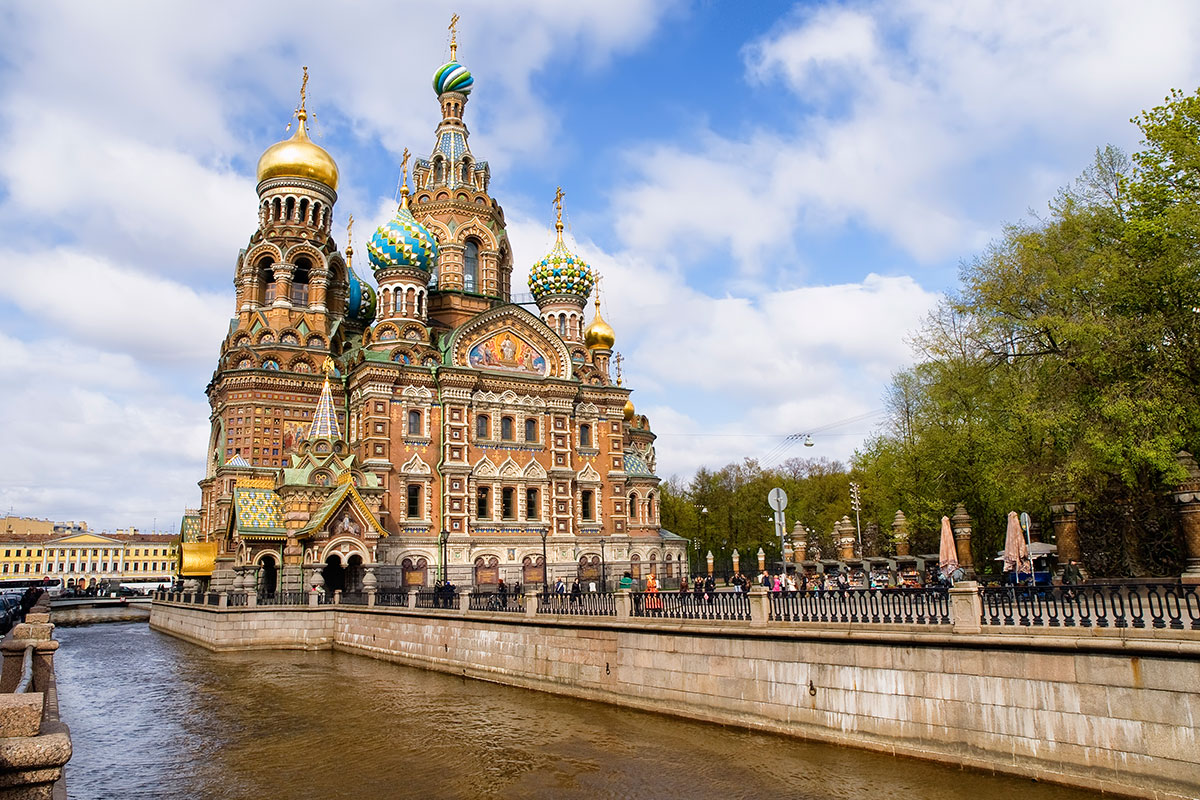 Russia St Petersburg Restaurants