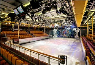 Center Ice Rink on Adventure of the Seas