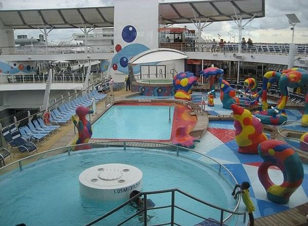 H20 Zone on Allure of the Seas