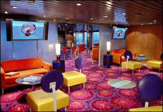 The Living Room on Allure of the Seas