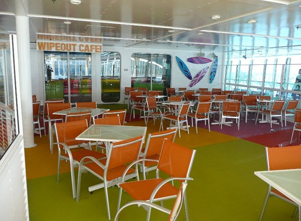 Wipe Out Cafe  on Allure of the Seas