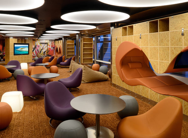 The Living Room on Anthem of the Seas