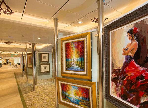 Art Gallery on Anthem of the Seas