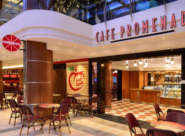 Café Promenade on Anthem of the Seas