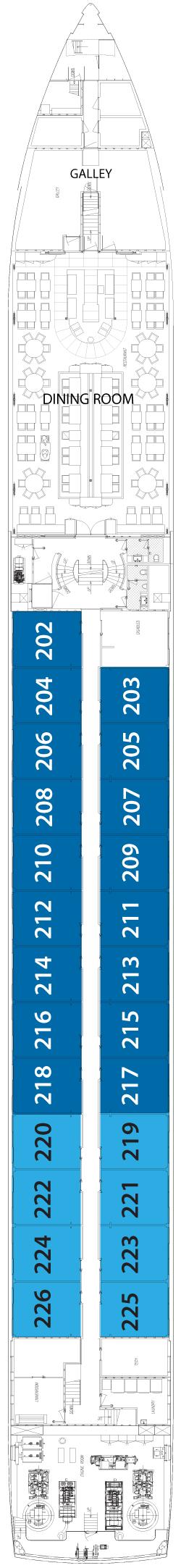Sapphire Deck