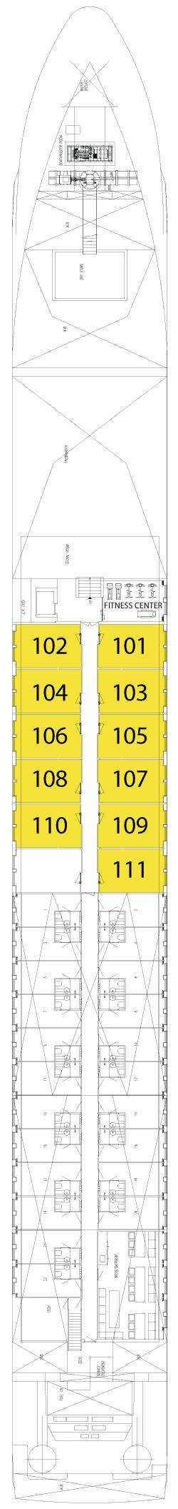 Indigo Deck