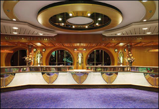 Guest Services and Explorations! on Brilliance of the Seas
